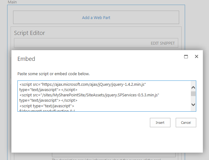 Pre-populate user details on NewForm aspx with a Script Editor Web